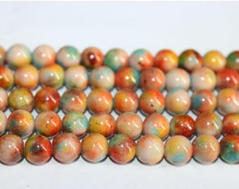 15 Inches Full strand,10 Strands Mountain jade round beads 6mm 8mm Jade Beads Wholesale,loose beads,semi-precious stone