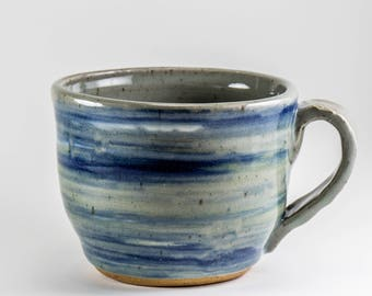 Stoneware Cup for Coffee or Tea