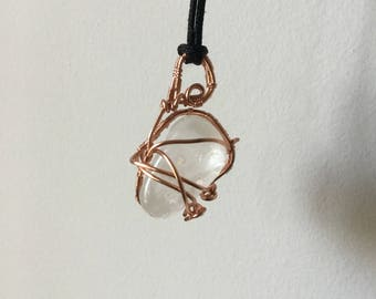 Clear Quartz Wire Wrapped