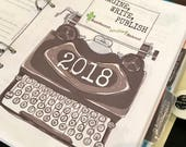 2018 Writing Planner