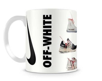 OFF WHITE Collection Ten Nike Gift Trainers - Sneaker Mug SNUG, Gift