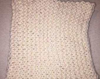 Off-White Colored Infinity Scarf