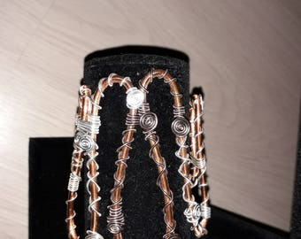 Bracelet - aluminum wire