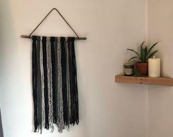 Mixed Yarns Wall Hanging