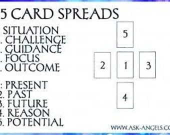 Tarot Reading - General Question - 5 Card Spead