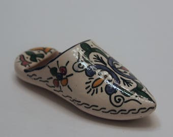 Moroccan Ceramic Slipper