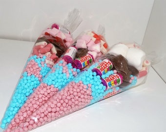 Large sweet cone, Valentine, Party bag, wedding favour