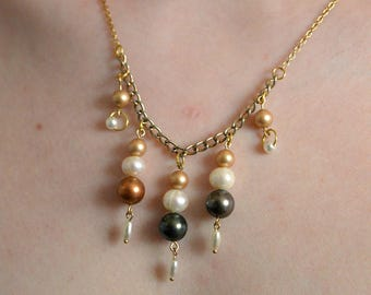 Dyed Cultured Pearl Necklace