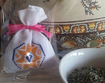 Profumabiancheria Bag with lavender flowers