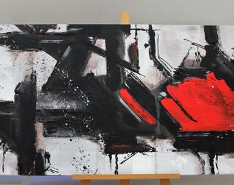 Abstract No. 61 - acrylic on canvas - painting