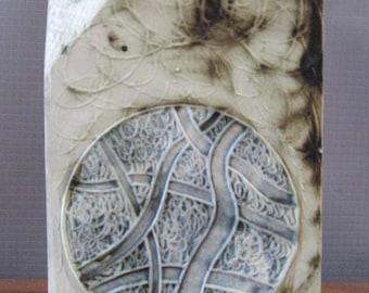 Retro Carn Pottery Chimney vase