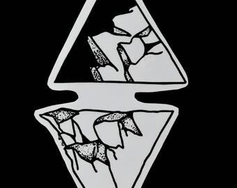 Mountians Sticker