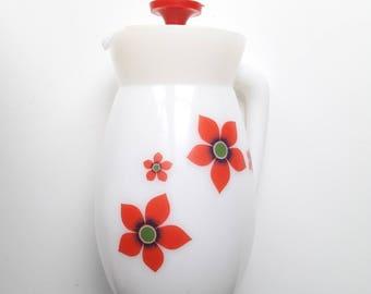 French vintage jug Arcopal 70's