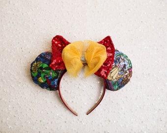 Beauty and the Beast Minnie Ears