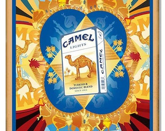 Camel Cigarettes Reproduction Metal Sign 12″x18″