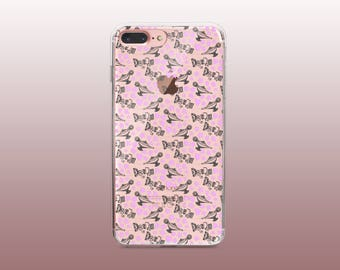Fun Clear TPU Phone Case for iPhone 8- iPhone 8 Plus - iPhone X - iPhone 7 Plus-iPhone 7-iPhone 6-iPhone 6S-Samsung S8