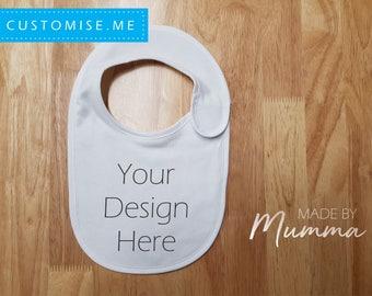 Custom Order, Custom Baby Bib, Personalised Infant Bib, Custom Bib, Personalized Bib, Newborn
