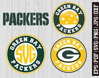 Green Bay Packers SVG Files, Green Bay Packers Logos, Football Logos, Football Die Cut SVG, Cutting Machine Files, Decal Vinyl * SVG15