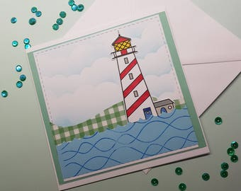 Lighthouse Handmade Cards