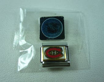 Montreal Canadiens NHL official 9mm Italian Charm 0138