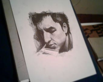 portrait of bob dylan (original)