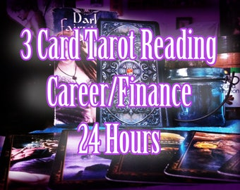 3 Card Career/Finance Tarot Reading