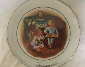 1983 Avon collector's plate