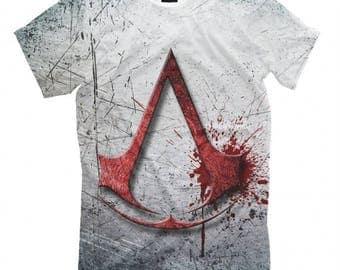 Assasin's Creed Art Full Print T-shirt