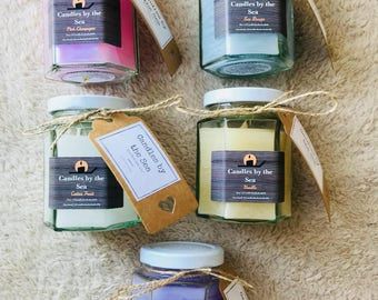 mix of any five of these  Scented Candles
