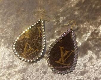 LV Bling Earrings