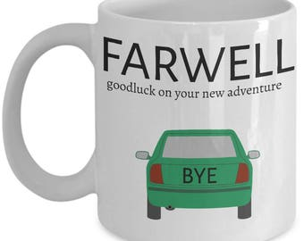 Coworkers Co-worker best mugs coffee tea cup gifts funny friend colleague Retirement boss Goodbye Leaving Farewell For Going Away Thank You