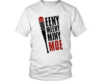 Negan - Eeny Meeny Miny Moe Men's Tee