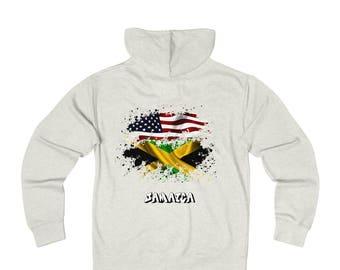 Amwo Zip Hoodie  Usa-Jamaica