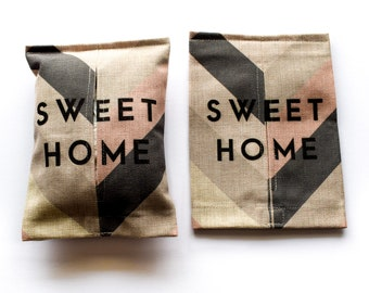 Sweet Home - Tissue Box Cover