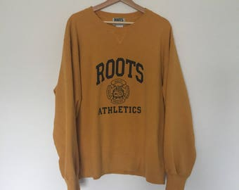 Vintage Roots Mustard Yellow Crewneck