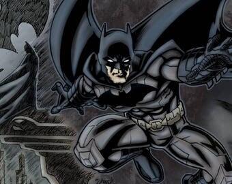 Batman 11x17 Art Print