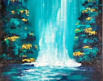 Abstract Waterfall