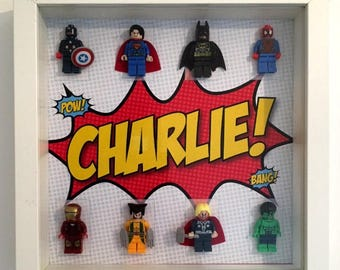 Superhero Frame - Personalised