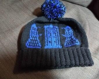 Dr Who - TARDIS & Dalek hat