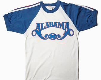RARE 1980 Official Alabama Band Tee