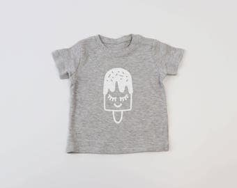 Ice Lolly T-Shirt - Baby T-Shirt - Toddler T-Shirt - Baby Shower Gift