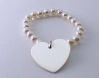The Pearl of My Heart Bracelet