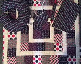 Anchors Baby Quilt Set