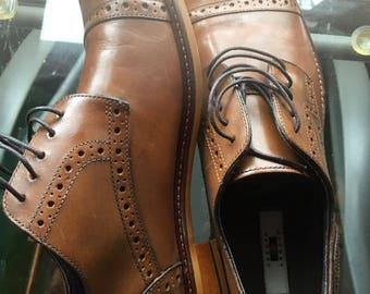 Brown Joseph Abboud Size 10.5