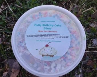 Birthday Cake Slime