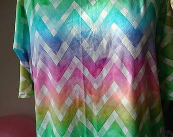 Oversize-Shirt mit raffinierten Ärmeln