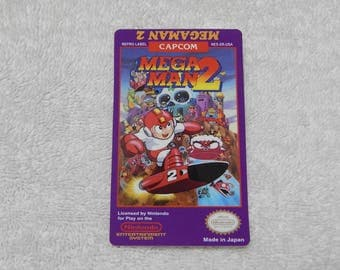 Mega Man 2 | NES | Custom Label | Nintendo