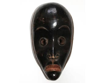 Incredible Traditional Tribal African Africa Dan Mask from Liberia