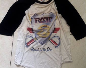 Vintage RATT 1989 Reach for The Sky tour shirt size XL