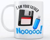Computer Geek Gift Coffee Mug | Funny Tech Gift | Floppy Disk Mug | Geeky Gift Idea | Computer Programmer Mug | Coder Gift for Coders